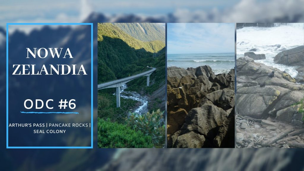 NOWA ZELANDIA🇳🇿 #6 | Arthur's Pass | Pancake Rocks | Seal Colony [FILM]